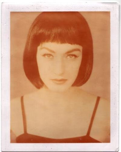 Polaroid Eva foto Louise Storm